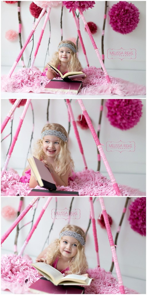 My Muse All In Pink - Melissa Rieke Photography - Kansas City Childrens Photographer