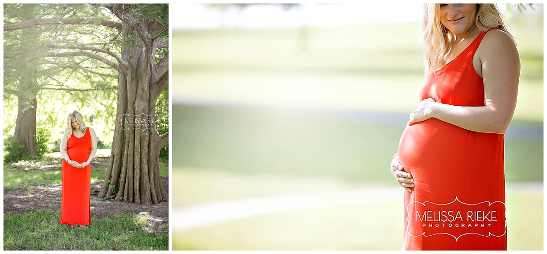 Kansas City Maternity Photos | Melissa Rieke Photography | Lake Maternity