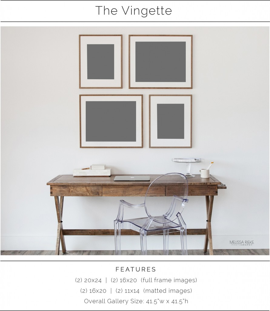 The Vingette | Wall Collection | Wall Art Design | Melissa Rieke Photography