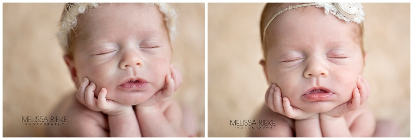 Twin Newborn Baby Girl Photos | Melissa Rieke Photography | Cream | Halo