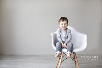 Modern White Chair Mini Kansas City
