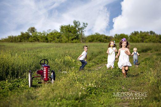 Behind The Scenes Photo Shoot Farm Kansas City