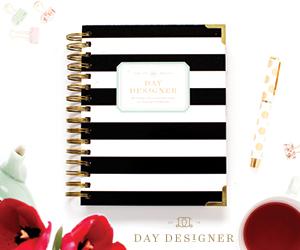 Day Designer Schedule Planner 2017