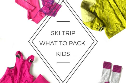 Packing Family Ski Trip Vacation Colorado Winter Park