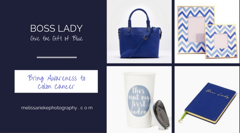 Gifts of Blue Boss Lady Colon Cancer Awareness