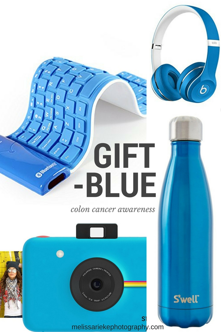 Give Gifts of Blue Tech Colon Cancer Awarenes