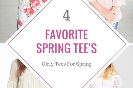 Spring Tee's Favorite Curated Fashion Shirts Tops Floral