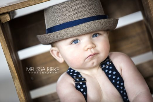 Baby Blue Eyes Sitting Up Pictures Suspenders Kansas City