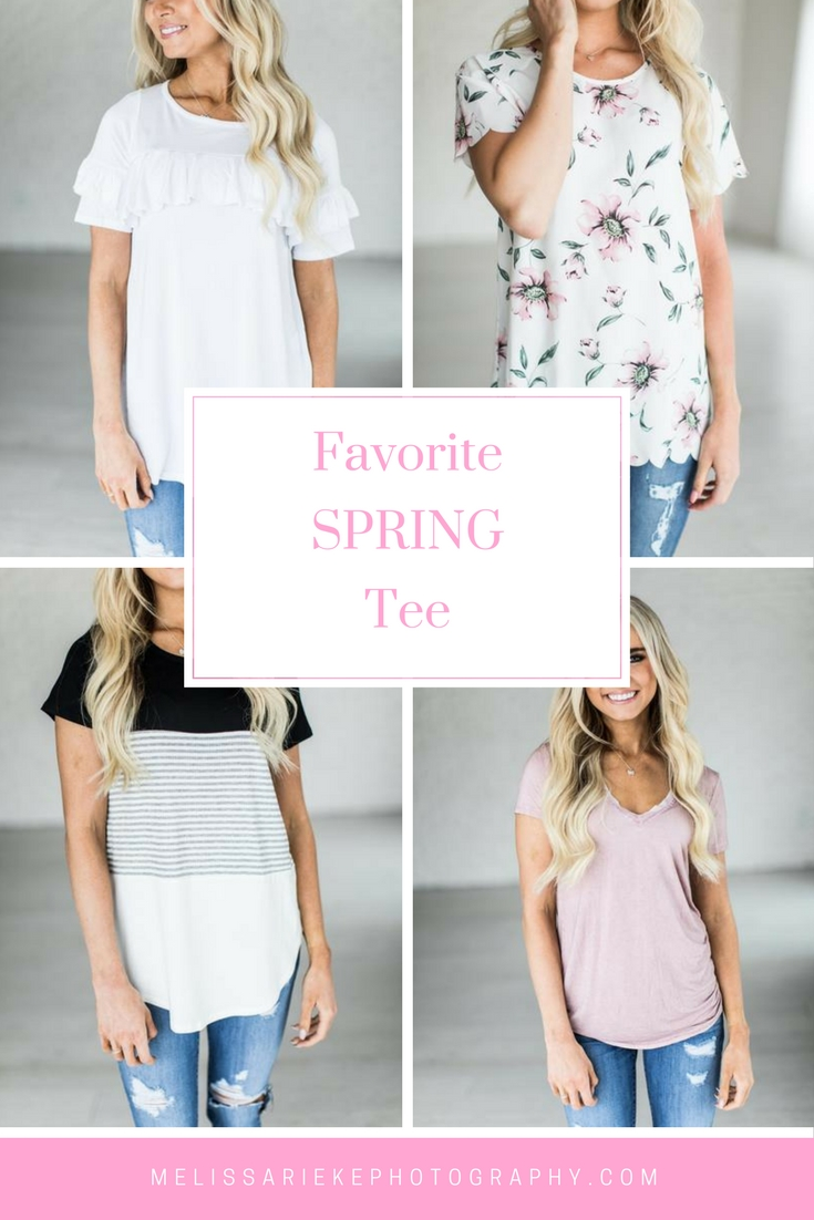 Spring Tees Favorite Curated Fashion Shirts Tops Floral