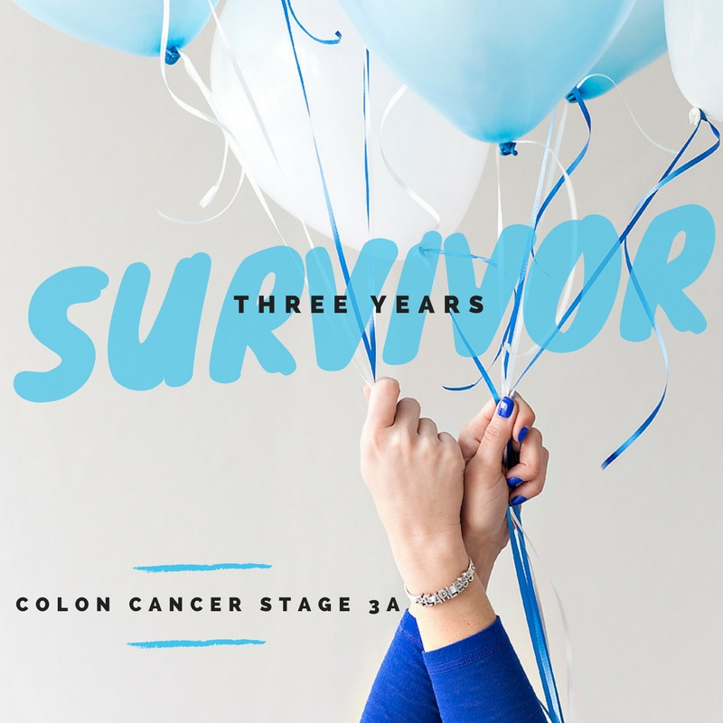 Cancer Survivor Colon Cancer 3 Years Stage 3 Kansas City