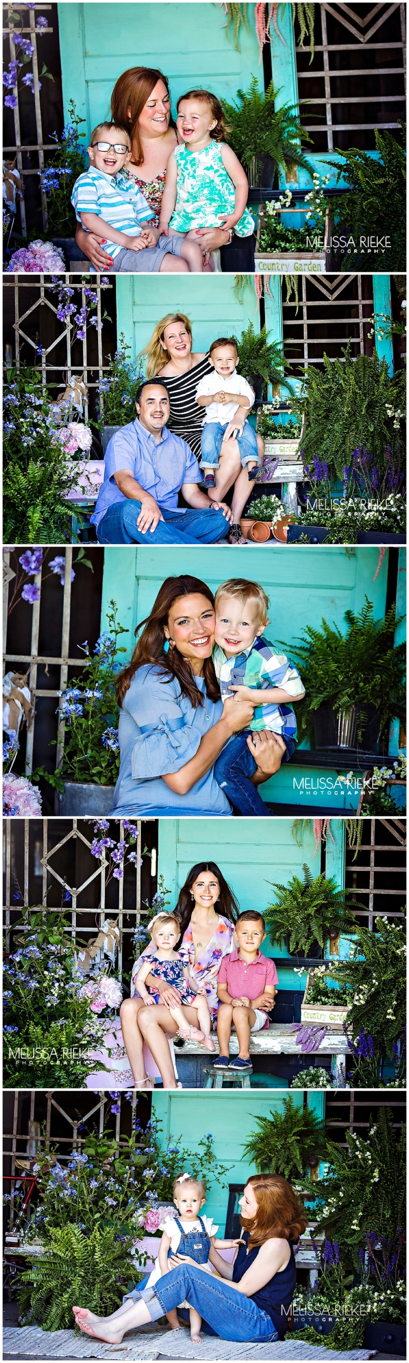 Floral Mini Sessions Kansas City Mommy & Me Mothers Day Pictures