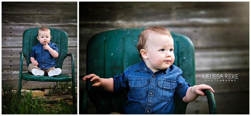 First Birthday Farm portrait session | Cake Smash | Kansas City | Melissa Rieke Photography