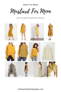 Mustard Outfits Looks Mom Fall Portraits