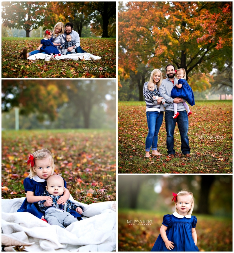 Beautiful Fall Family Pictures Kansas City Local Photographer