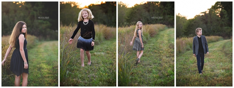 At Home Fall Family Pictures Photos Kansas City Photography