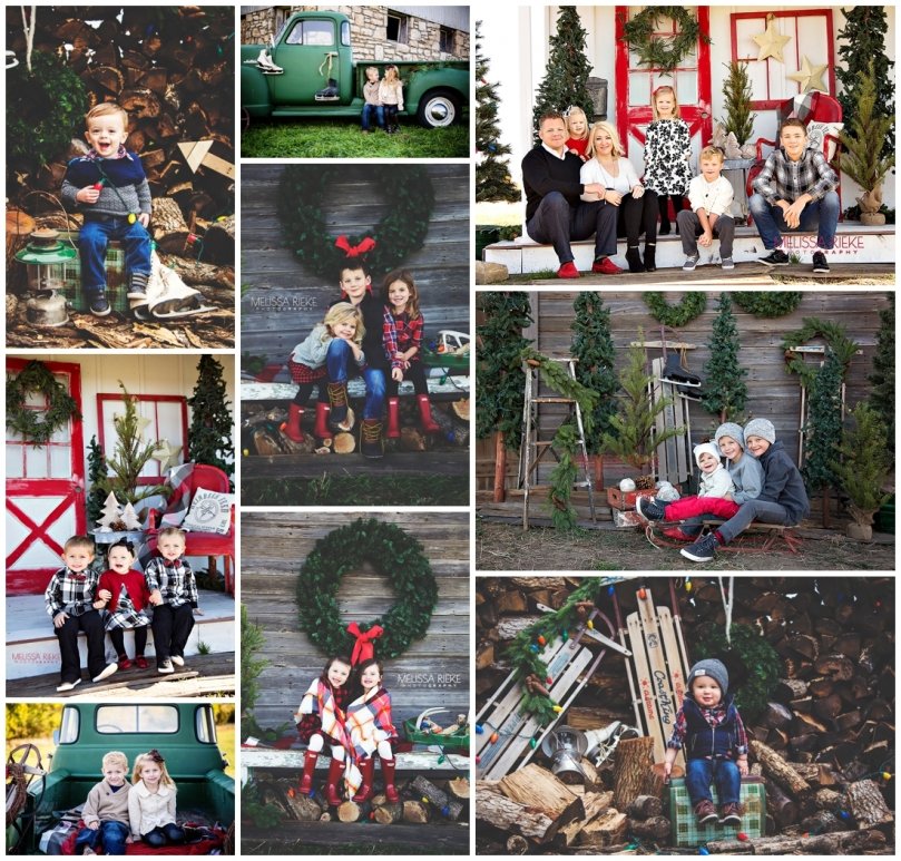 Christmas Mini Sessions Kansas City Holiday Pictures