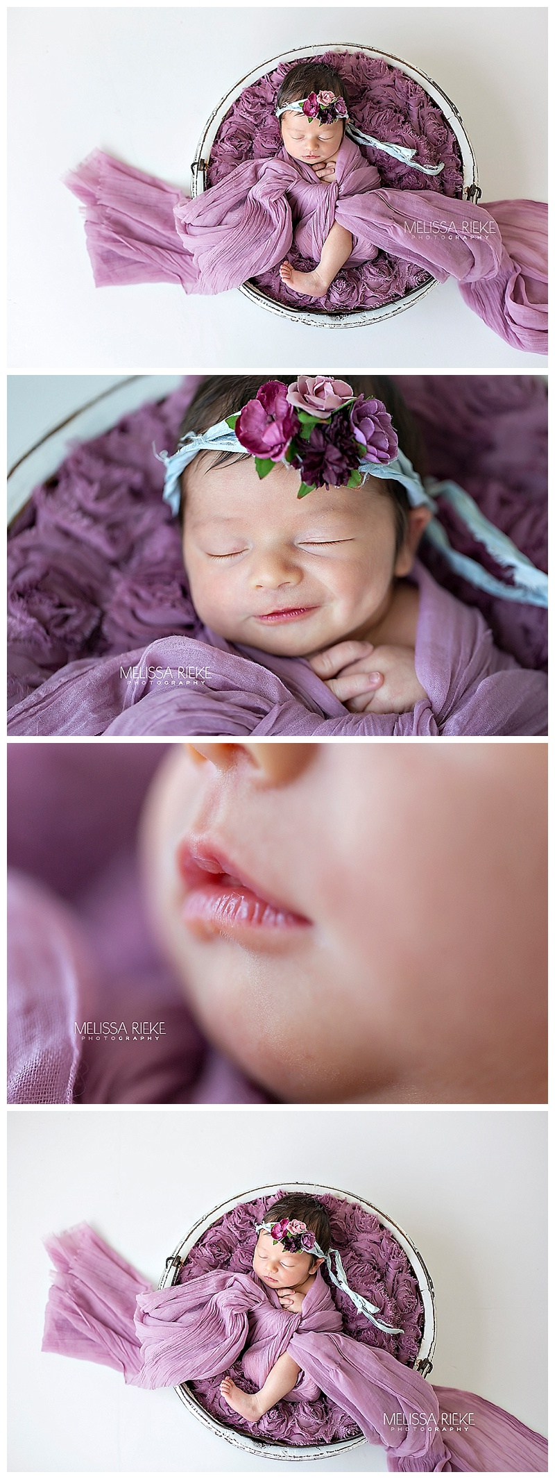 Baby Emmy Tolbert Jade Tanner Bachelor Paradise Kansas City Newborn Portraits Pictures