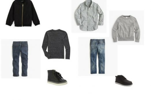 Boys Black and White pIctures what To wear portraits fall grays