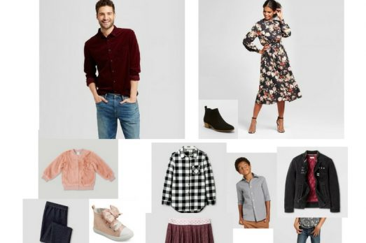 Target Outfits For Family Kansas City Photographer what to wear