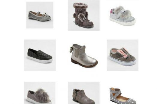 Stylish Gray Toddler Shoes