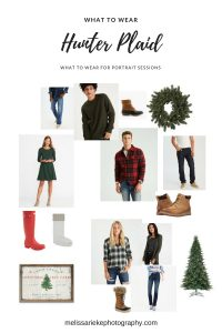Hunter Green Plaid for Casual Fall Pictures What to Wear
