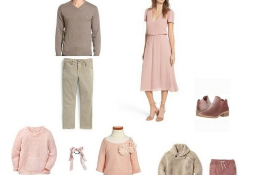 Blush Family Outfits for Pictures What to Wear Fall Portraits