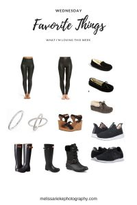 Wednesday Favorites Fashion Inspiration Leggings Shoes Rings Shopping Links