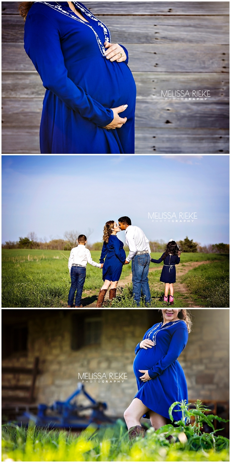 Beautiful Outdoor Farm Maternity Session Gowns Kansas City What To Wear Family Pregnancy