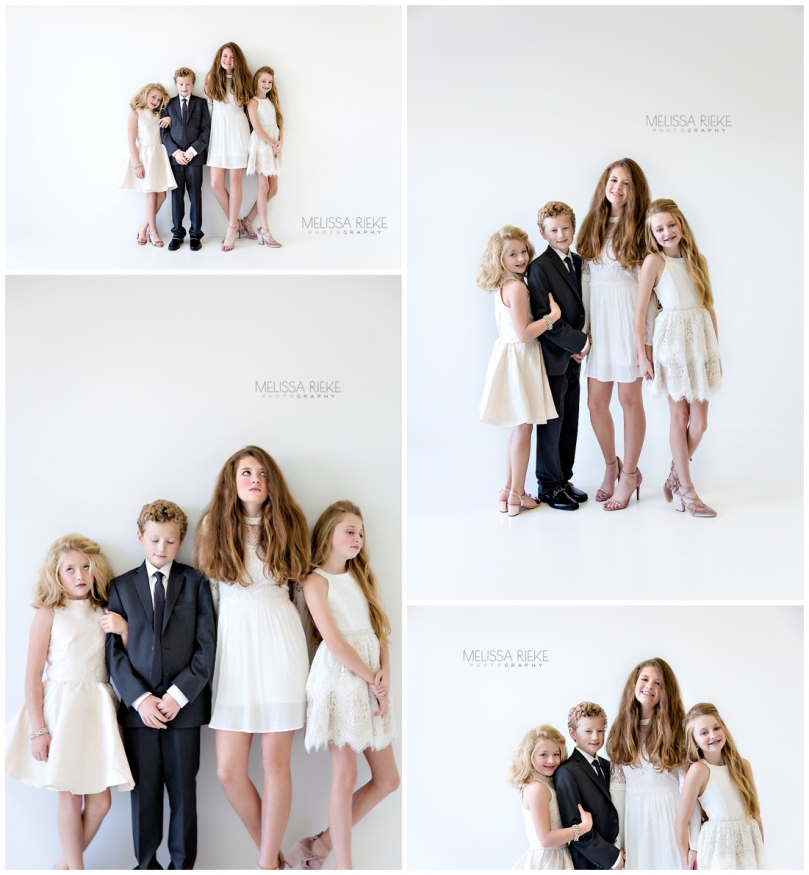 Tweens Teens Pictures What to Wear All White In Studio Photographer