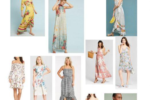 Spring Dress Round Up