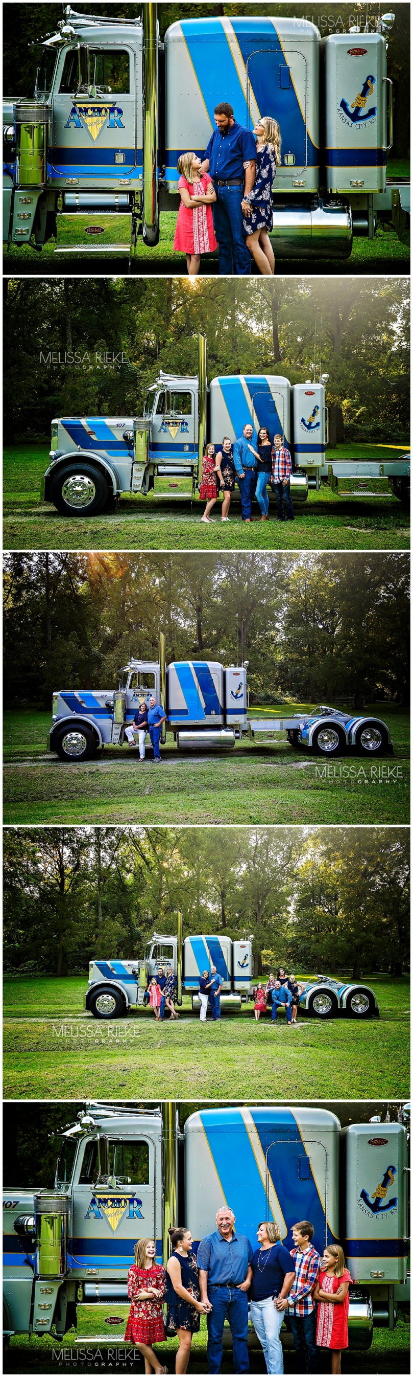 Trucking Family Anchor Trucking Kansas City Pictures Family