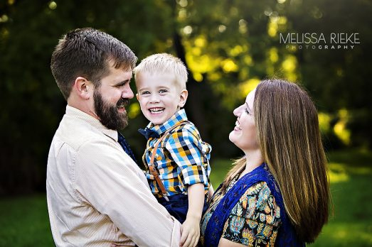 Kansas City Family Pictures with a Toddler