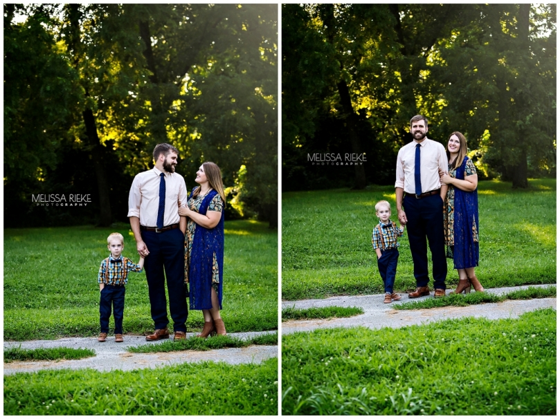 Family Picture Poses with a Toddler Kansas City Photographer