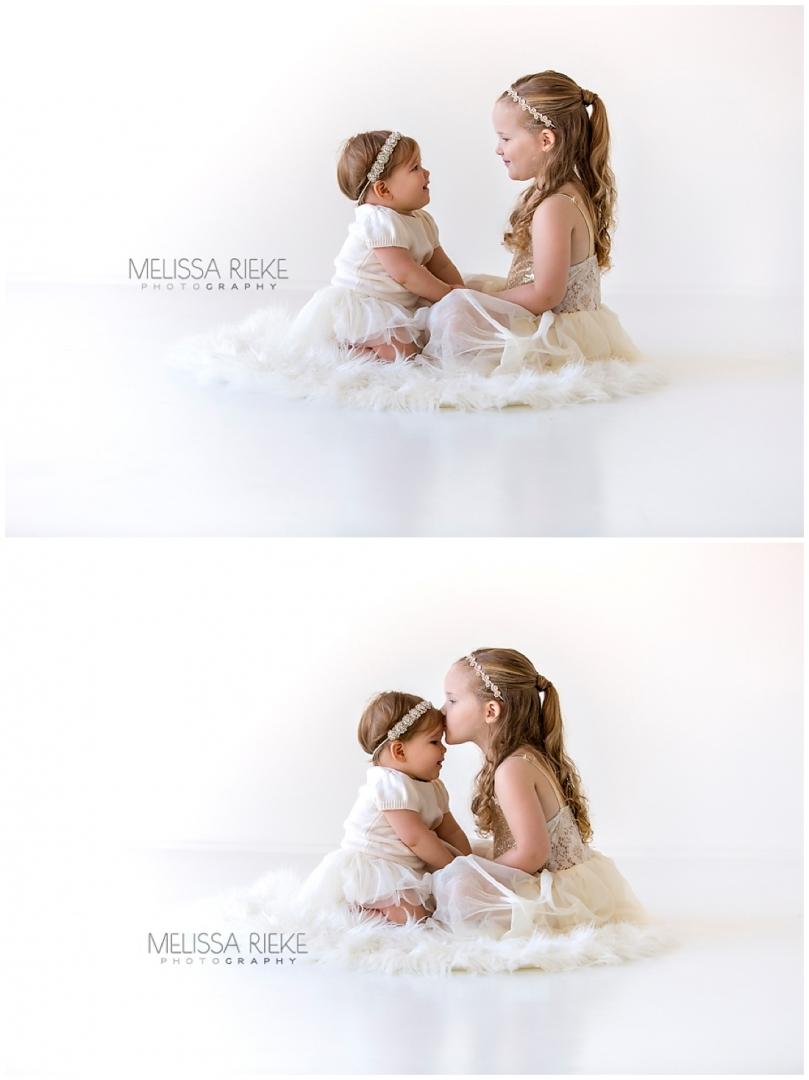 Cutest Sister Pictures Kansas City Children Photographer Sister Love Baby Girls