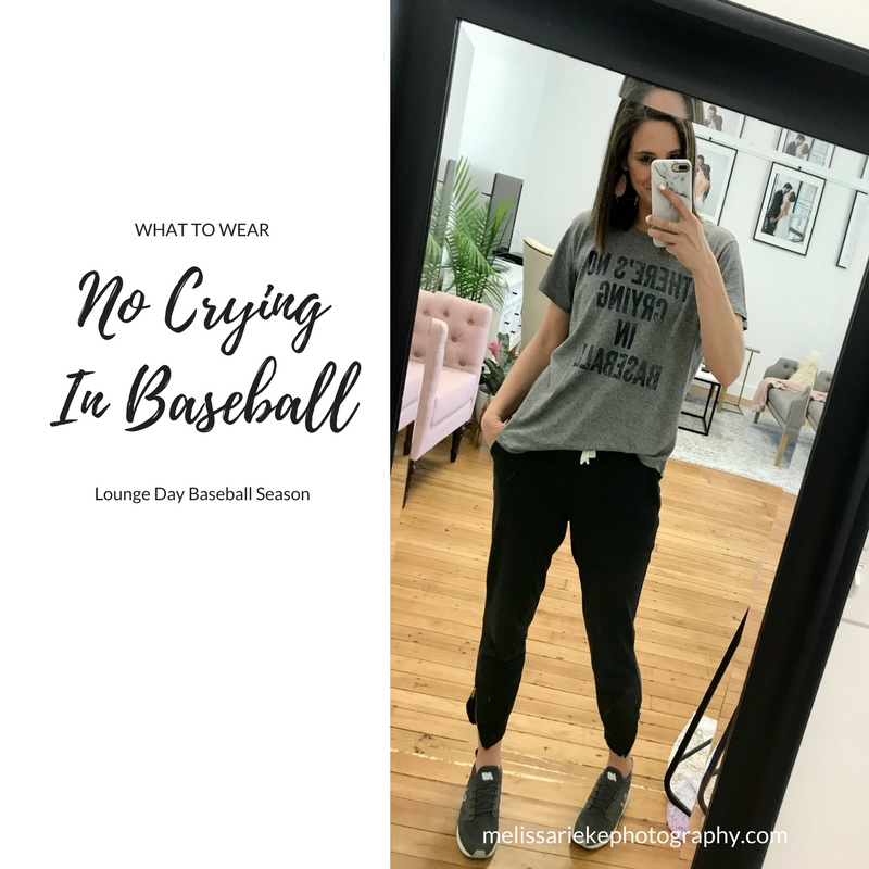 No Crying In Baseball outfit of the day ootd what to wear