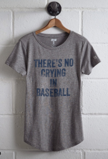 No crying In baseball what to wear t-shirt