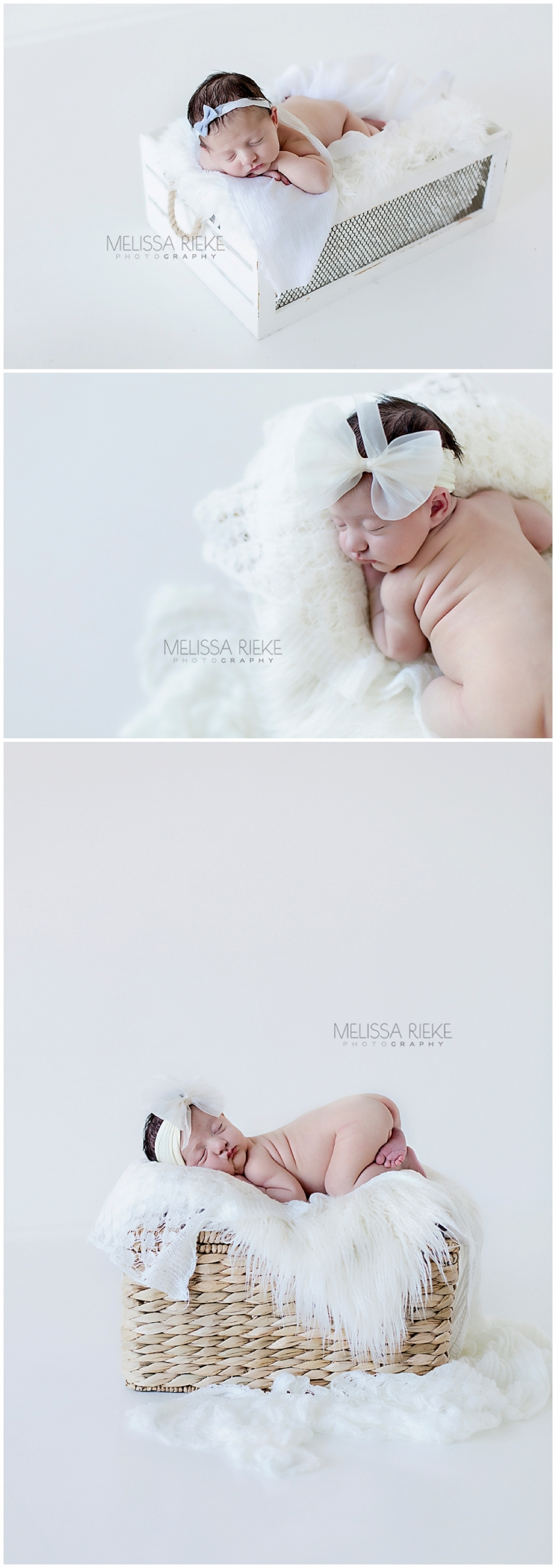 Posed Newborn Baby Girl Kansas City Photographer Photos Pictures