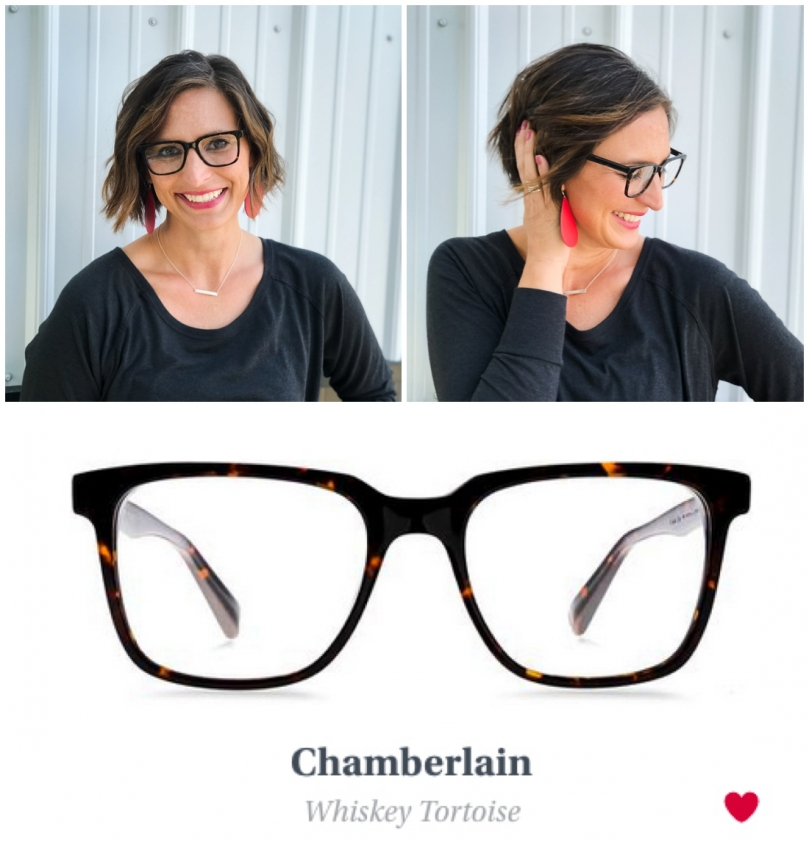 Eye Glasses Try On Warby Parker Chamberlain