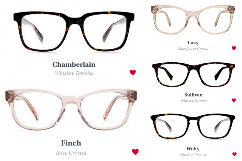Eye Glasses Try On Warby Parker Home 5 Pairs