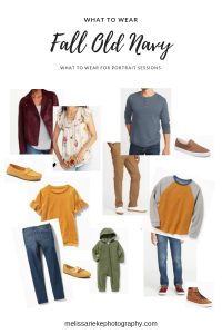 Fall Family Picture Outfits