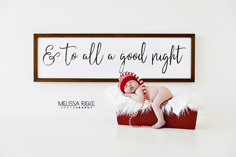 Newborn Christmas Pictures Mini Mini Holiday Newborn Posing Kansas City