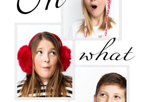 Tween Christmas Card Pictures Teens Big Kids Mini Session Kansas City