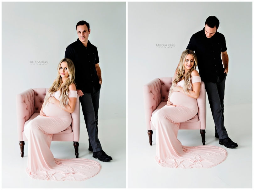 Studio Maternity Photos Kansas City Simple Belly Pictures