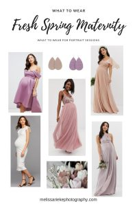 Spring Maternity Session Outfit Options What To Wear Lavender Blush Pink