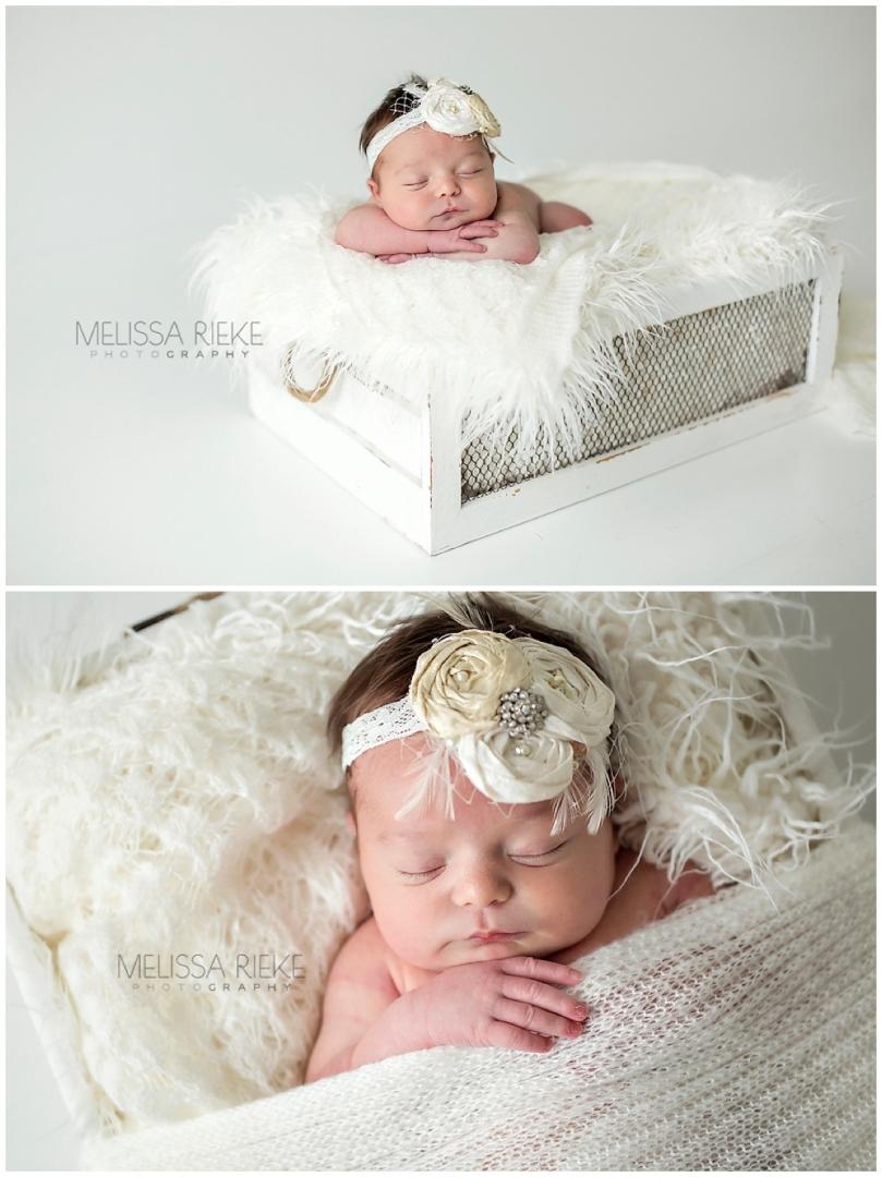 Newborn Posing Mini Session Kansas City Photographer Posed Baby