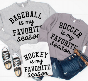 Jane Finds Favorite Sports Season Sweatshirt