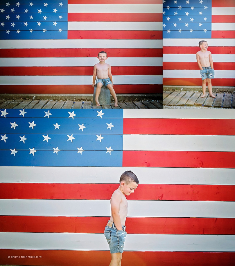 American Mini Sessions Kansas City Photographer 4th of July Pictures