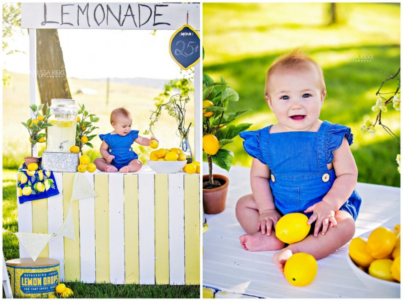 Lemonade Stand Mini Sessions Kansas City Childrens Photographer Summer Lemons Pictures Portraits