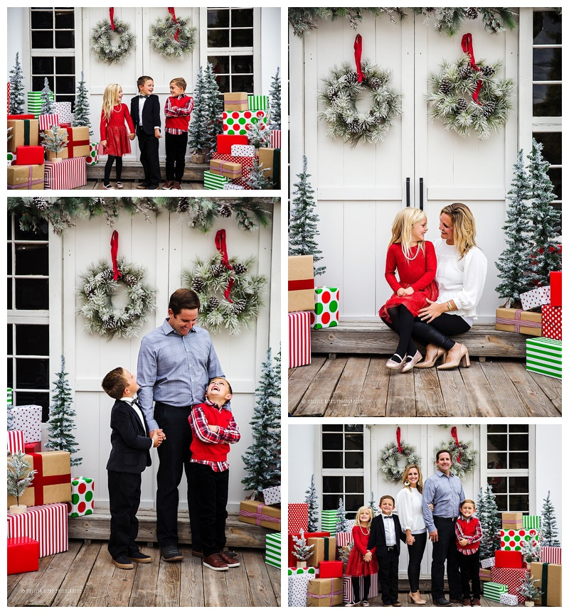 Christmas Picture Sessions Kansas City Gifts Photos Portraits Card Pictures